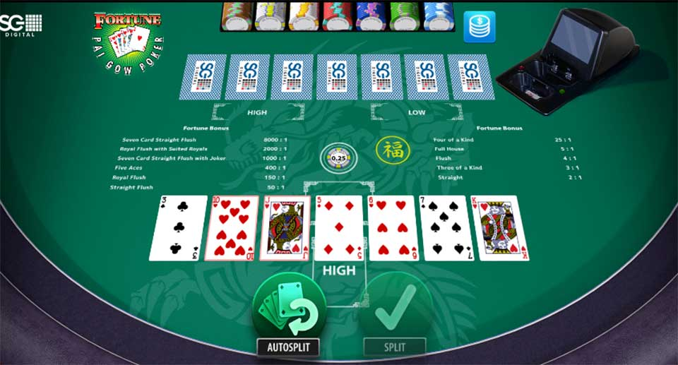 Pai Gow Poker at Singapore Online Casino