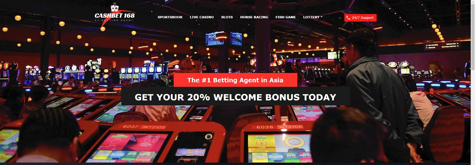 Cashbet168 online casino Singapore