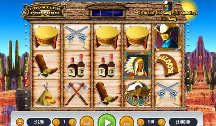 How to play Frontier Fortune Slot Game At King855