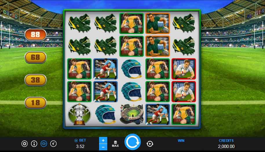 Rugby Star Slot Game – How to play Rugby Star Slot Game At King855?